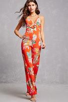 Forever 21 FOREVER 21+ Floral Print Jumpsuit