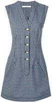 Derek Lam 10 Crosby mouline check dress