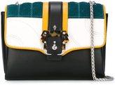 Paula Cademartori panelled crossbody bag