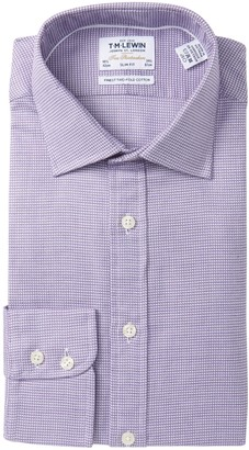 T.M.Lewin Arrow Twill Slim Fit Dress Shirt