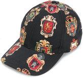 Dolce & Gabbana Heraldic Sicilia cap - men - Silk/Cotton/Polyester/Viscose - 57