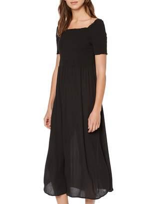Tom Tailor Casual Women's Gesmocktes Kleid Dress