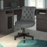 Hillsdale Mid Back Tufted Task Chair Red Barrel Studio Upholstery: Dark Gray