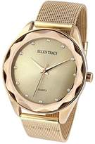Ellen Tracy Women's Quartz Metal and Alloy Watch, Color:Gold-Toned (Model: ET5180GD)