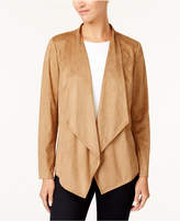JM Collection Open-Front Jacket, Created for Macy's