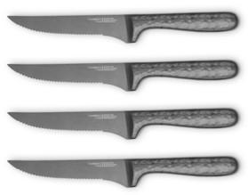 Cambridge Silversmiths Nero 4-Piece Steak Knife Set