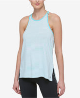 Tommy Hilfiger Bream Double-Strap Striped High-Low Tank Top, A Macy's Exclusive Style