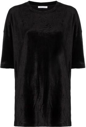 Ninety Percent crew-neck oversized T-shirt