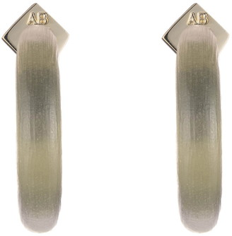 Alexis Bittar Small Thin Hoop Earrings