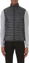 Armani Jeans Quilted shell gilet