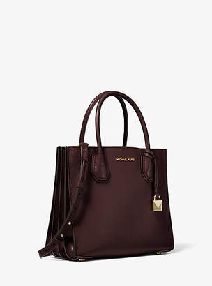 Michael Kors Mercer Medium Pebbled Leather Accordion Tote