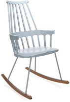 Kartell Comback Rocking Chair - Grey Blue