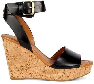 Tommy Hilfiger Maya Cork Wedge Heel Sandals