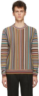 Paul Smith Multicolor Signature Stripe Sweater