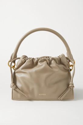Yuzefi Bom Mini Leather Tote - Beige