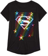 Jerry Leigh Super Girl Star Logo T-Shirt- Girls' 7-16