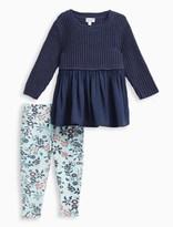 Splendid Baby Girl Sweater and Printed Pant Set