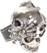 Alexander McQueen Spider Skull Large Ring