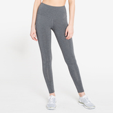 Splits59 Bardot High-Waist Tight in Heather Grey