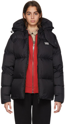 Burberry Black Monogram Puffer Down Dalston Jacket