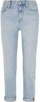 Madewell Perfect Summer Distressed Boyfriend Jeans - Light denim