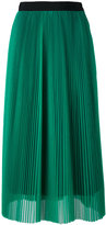 MSGM mid-length pleated skirt - women - Polyester - 40