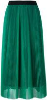 MSGM mid-length pleated skirt