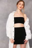 Silence & Noise Silence + Noise Tube Bodycon Mini Skirt