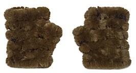 Jocelyn Mandy Faux Fur Knit Mittens