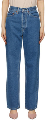 RE/DONE Blue 30s Ladies Jeans