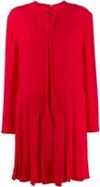 Valentino VLOGO pleated dress