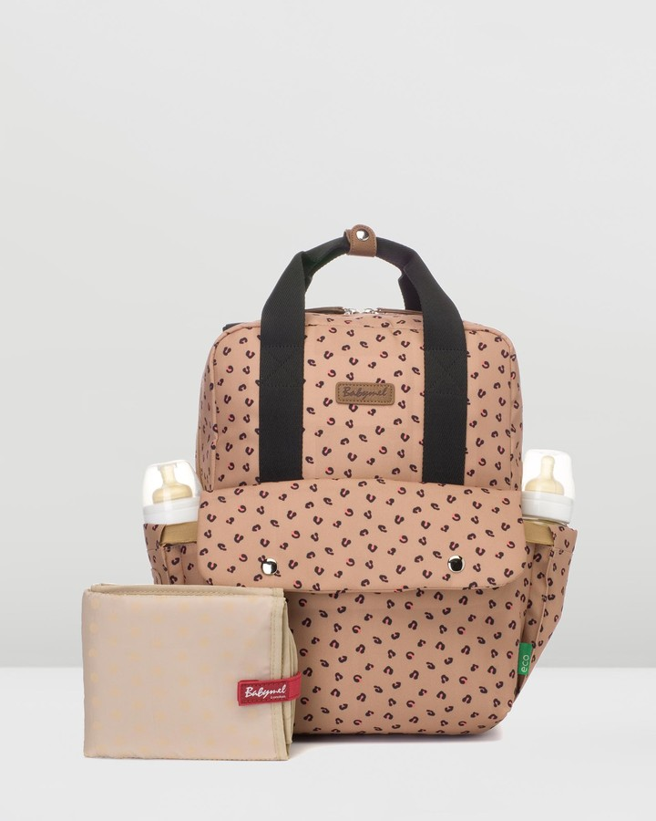 Babymel Women's Brown Nappy bags - Georgi Eco Convertible Backpack - Size One Size, Unisex at The Iconic