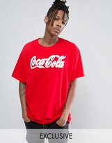 Reclaimed Vintage Inspired X Coca Cola Oversized T-Shirt