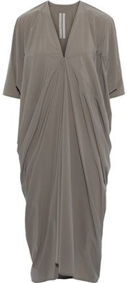 Rick Owens Kite Draped Shell Midi Dress