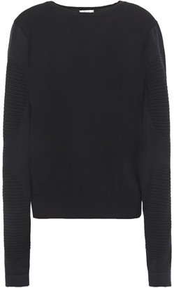 Wolford Trinity Jacquard And Stretch-knit Sweater