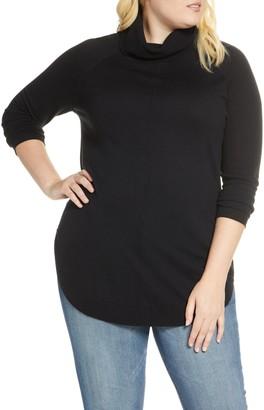 Caslon Turtleneck Tunic Sweater