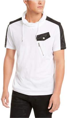 INC International Concepts Inc Men Cowl Neck T-Shirt