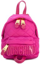 Moschino mini quilted backpack - women - Polyamide - One Size