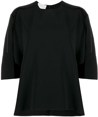 Maison Margiela Draped Knitted Top