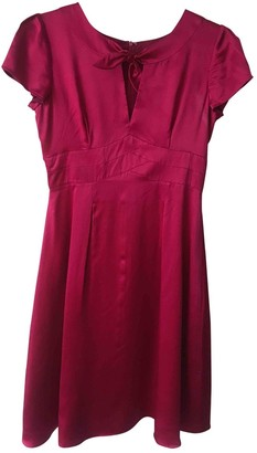 Hobbs Pink Silk Dress for Women