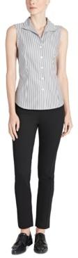 Jones New York Cotton No-Iron Striped Shirt