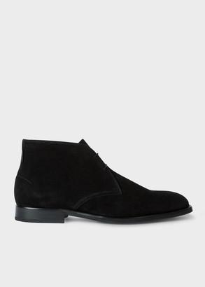 Paul Smith Men's Black Suede 'Arni' Chukka Boots