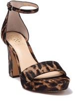 Vince Camuto Sathina Genuine Calf Hair Sandal