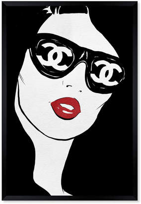 Oliver Gal Sunglasses Flare Framed Art By The Artist Co.