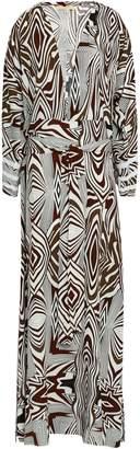 Melissa Odabash Printed Woven Maxi Dress