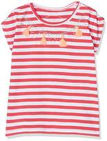 Tom Tailor Kids Girl's Striped Artwork T-Shirt