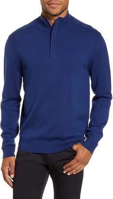 BOSS Bacelli Regular Fit Quarter Zip Sweater