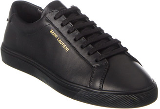 Saint Laurent Andy Leather Sneaker