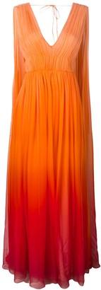 Alberta Ferretti Ombre Goddess Gown