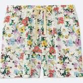 Uniqlo Women's Floral Relaco Shorts